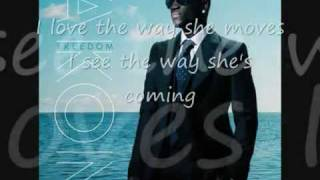 I love The Way She Moves---Akon & Zion (lyrics)