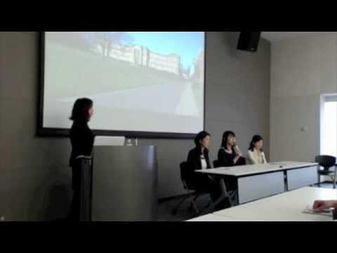 イギリスの大学の開発学部卒業生による「就職」に関するパネル・ディスカッション