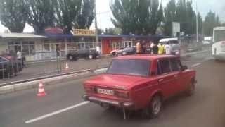 Дтп Nissan 350 Z coupe Луганск 12.06.13