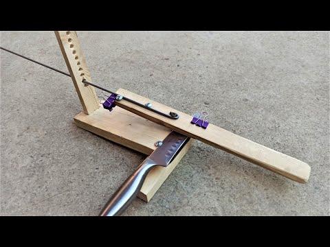 Проще не бывает! Самая простая точилка для ножей своими руками! How to make Knife Sharpener!