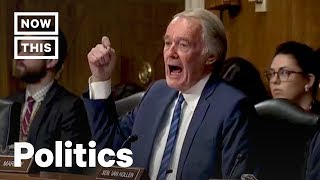 Sen. Markey Scorches EPA Nominee Andrew Wheeler on Climate Change | NowThis