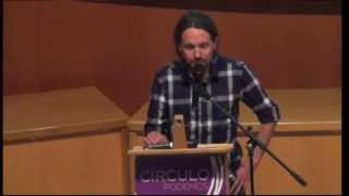 preview picture of video 'Conferencia de Pablo Iglesias en Soria el 2/5/2014'