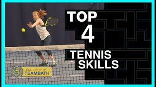 Top tennis skills