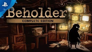 Beholder Complete Edition – Little Pal Announce Trailer – PS4
