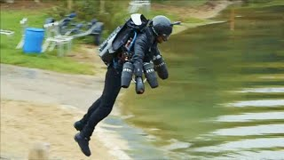 Watch: British Inventor Sets Jet Suit World Record