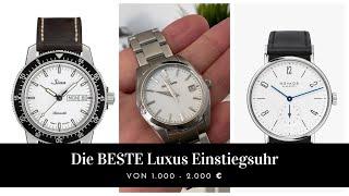 14 TOP Uhren zwischen 1.000-2000 € // 4K