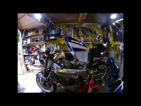 SUZUKI GSX-R600 カスタム||バイクパーツ動画バイク用品動画