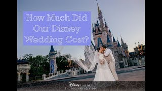 How Much Did Our Disney World Wedding Cost?