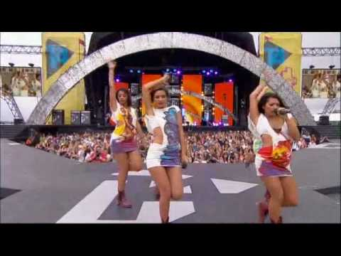 The Saturdays - Missing You (T4 On The Beach -  4th July 2010)