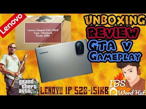 !!Latest 2018!! Lenovo Ideapad 520 15IKB 8th Generation!!Unboxing!!Review!!GTA V Gameplay