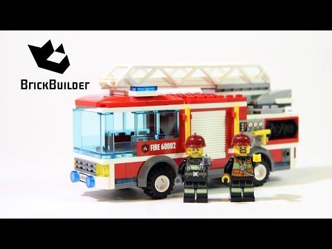 Vidéo LEGO City 60002 : Le camion de pompier
