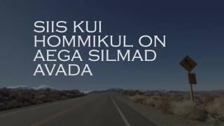 Kerli Kivilaan - Siis kui (lyric video)