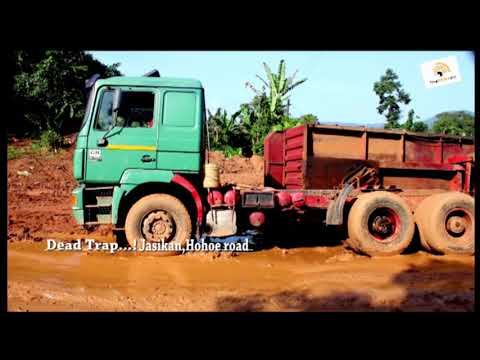 Death Trap: Jasikan, Hohoe road in bad state