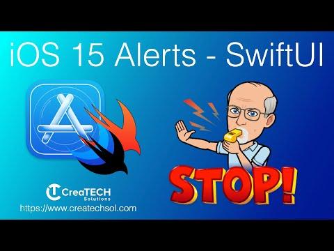 iOS 15 Alerts in SwiftUI thumbnail