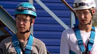 """На Сахалине прошли соревнования юных спасателей """"Школа безопасности"""""""