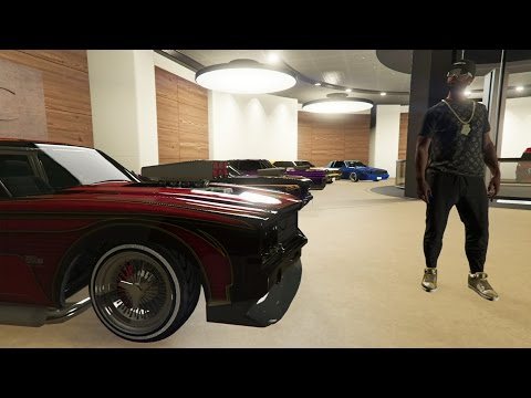 MY CAR COLLECTION IN GTA 5!