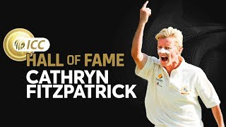 Cathryn Fitzpatrick Enters The ICC Cricket Hall of Fame! | New Inductee | ICC
