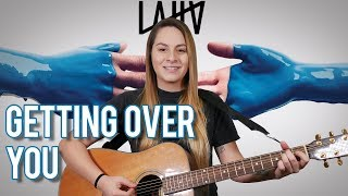 Getting Over You | Guitar Tutorial | LAUV | WITH CHORDS | NO CAPO