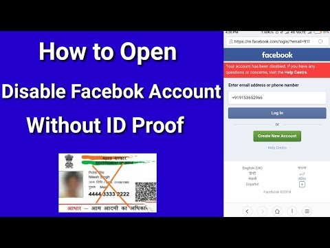 Download How To Get Back Disabled Facebook Account Without