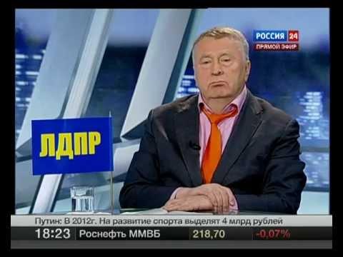 , title : 'Жириновский vs Миронов. Россия 24. Дебаты 16.02.2012'