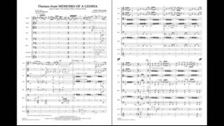 Themes from Memoirs of a Geisha by John Williams/arr. Ted Ricketts