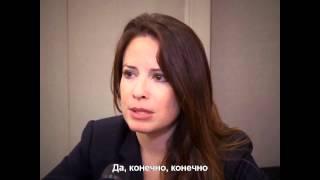 Holly Marie Combs, Холли о воссоединении Зачарованных (рус субтитры)