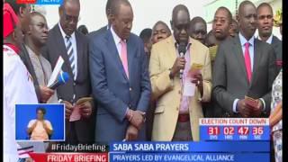 President Kenyatta makes a peace pledge
