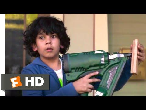 Instant Family (2018) - Nail Gun Emergency Scene (4/10)   Movieclips