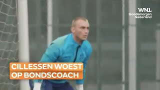 Doelman Jasper Cillessen woest op bondscoach Frank de Boer: 'Ik ben superfit'