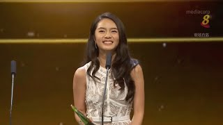 Star Awards 2019 - Flashback 2018 Chantelle Ng wins Best Newcomer Award