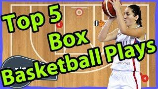 Top 5 Box Basketball Plays | The Easiest Basketball Plays