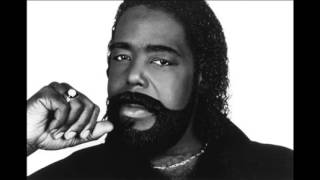 BARRY WHITE-standing in the shadows of love