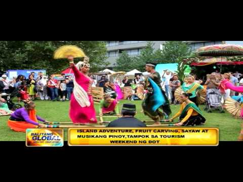 ABS CBN Europe News Feature -Philippine Tourism Weekend, London August 27-28 2016