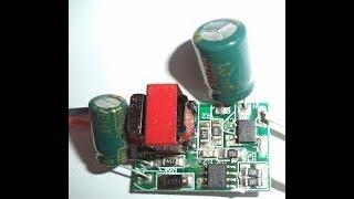 Cách phân tích sửa chữa đèn tuýp LED