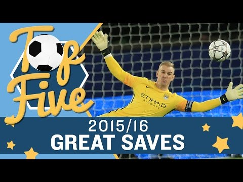 MANCHESTER CITY'S TOP 5 SAVES OF 2015-16