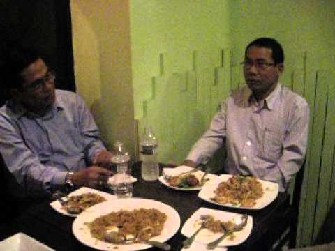 Dr Aye Maung discussion to Arakanese grpoup in USA