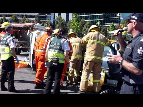 Road Accident Rescue Demonstration ‐ Multi Agency Response