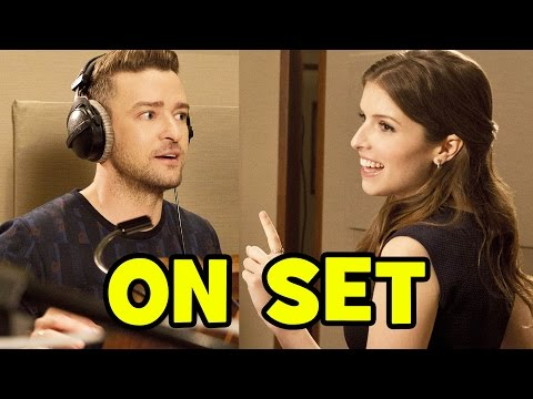 Behind The Scenes With TROLLS Cast Anna Kendrick & Justin Timberlake - Bloopers & B-Roll