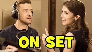 Behind The Scenes With TROLLS Cast (Movie B-Roll & Bloopers) - Anna Kendrick, Justin Timberlake