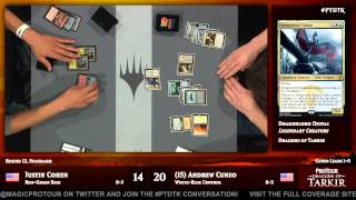 Pro Tour Dragons of Tarkir Round 12 (Standard): Andrew Cuneo vs. Justin Cohen