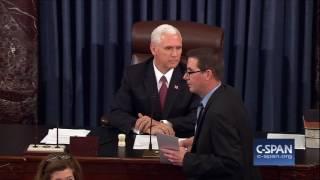 Senate confirms Neil Gorsuch for Supreme Court (C-SPAN)