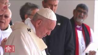 Sainte Messe présidée par le Pape François à l'île Maurice
