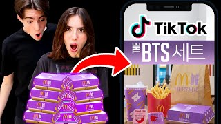 Letting TIKTOK Decide What We Eat For 24 HOURS!