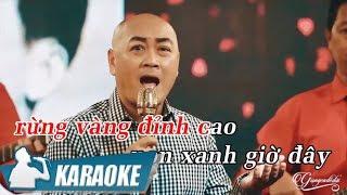 Karaoke Ngọn Đèn Đêm Tone Nữ - Hoàng Anh | Nhạc Vàng Bolero Karaoke