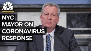 New York City Mayor Bill de Blasio speaks on coronavirus response - 5/5/2020