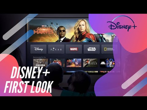 FIRST LOOK: WE GOT A SNEAK PEAK OF THE DISNEY+ APPLE TV APP