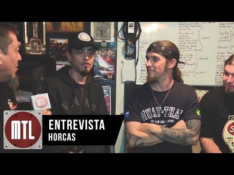 Horcas video Sala de Ensayo - Entrevista MTL 2015