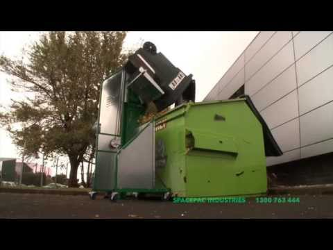 Spacepac Wheelie Bin Tipper