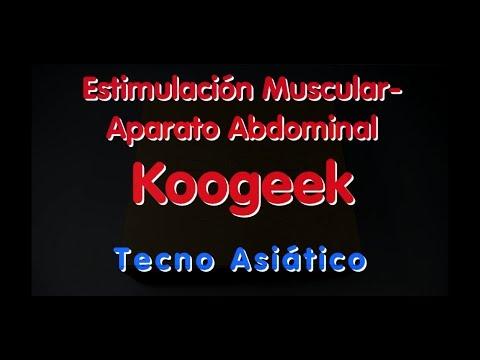 Estimulación Muscular - Aparato Abdominal Koogeek