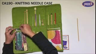CA190 Knitting Needle Case | Yazzii Craft Organizer